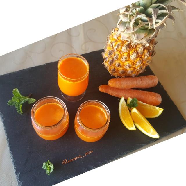 Carrot And Pineapple Juice