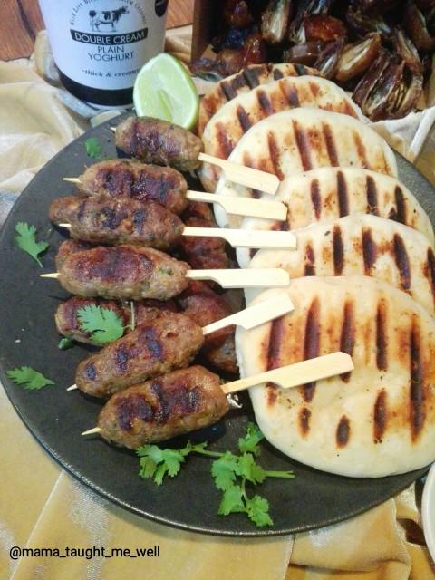 Mediterranean Lamb Koftas