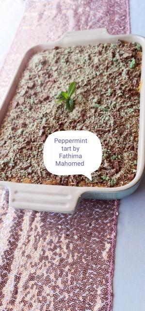 Peppermint, Caramel Tart
