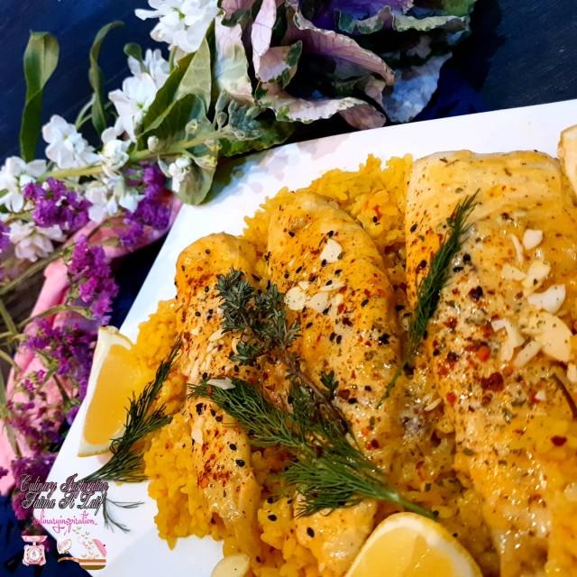 Saucy Herb Fish