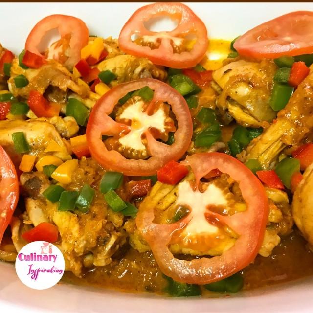 Chicken, Pepper & Potato Casserole