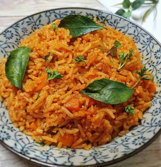 The Ultimate Spicy Rice