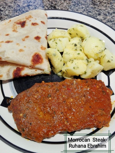 Saucy Morrocan Steak