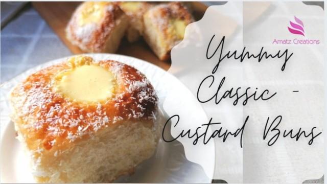 Yummy Classic- Custard Buns 🟡💛