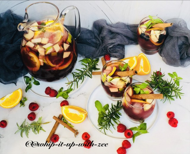 Sangria Moctail