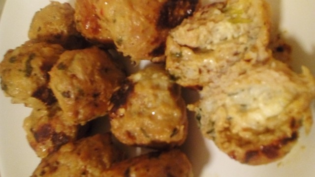 Chicken Kebabs Stuffed With Sweet Chilli Cheese