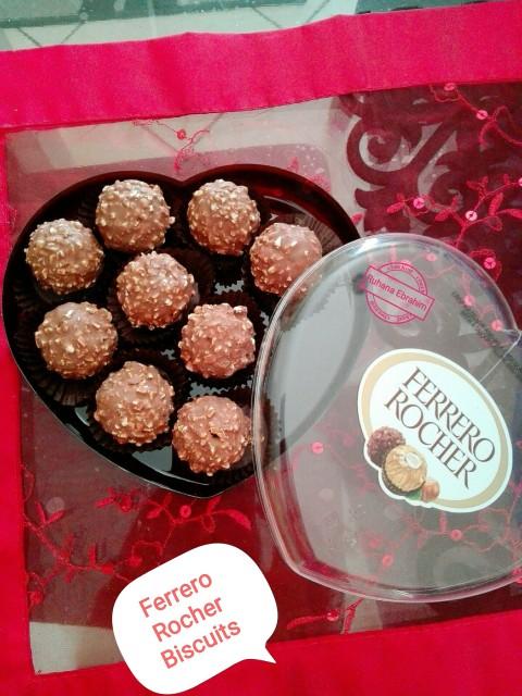 Ferrero Rocher Biscuits