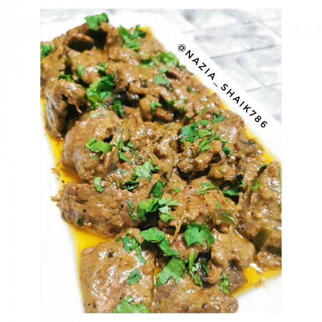 Manjras Style Pepper Steak