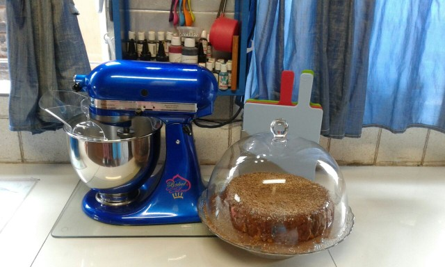 Cashews N Coconut Cake