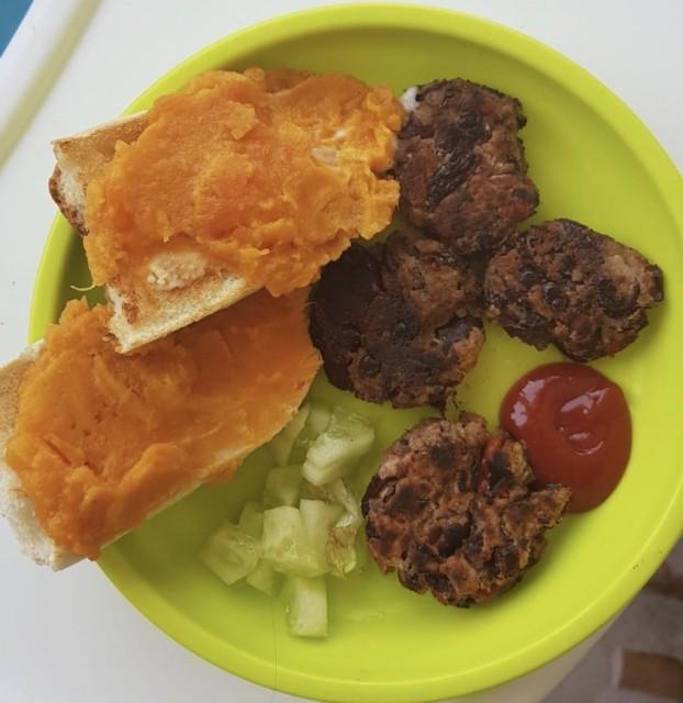 Best Ever Bean Burgers (ideal Toddler Meal)