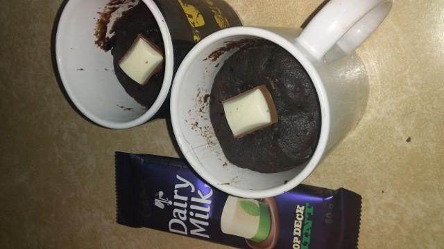 Mug Cake 4 Min