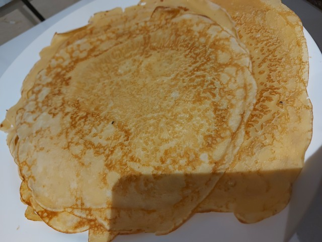 Fluffy  Crepes