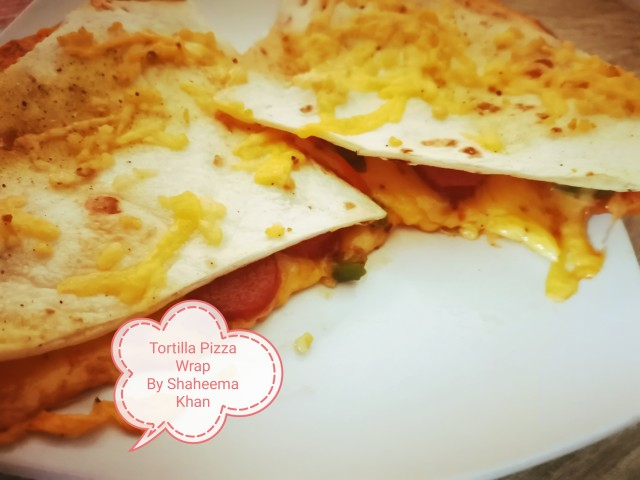 Tortilla Pizza Wrap