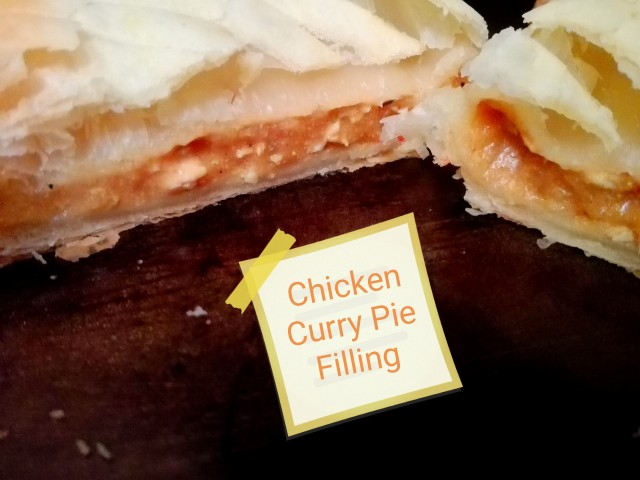 Chicken Curry Pie Filling