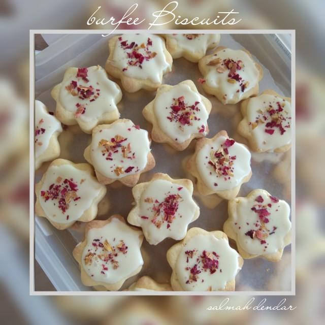 Burfee Biscuits