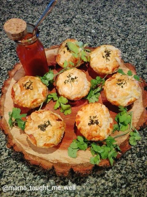 Chicken Tikka Pot Pies