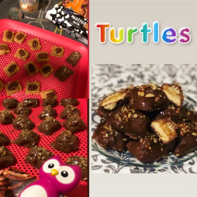 Homemade Canadian Turtles With A Twist