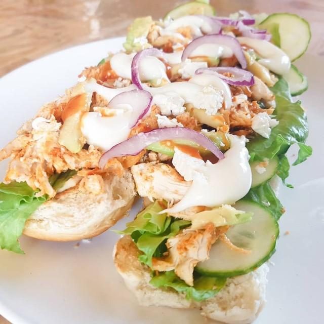 Chicken And Mayo Sandwich