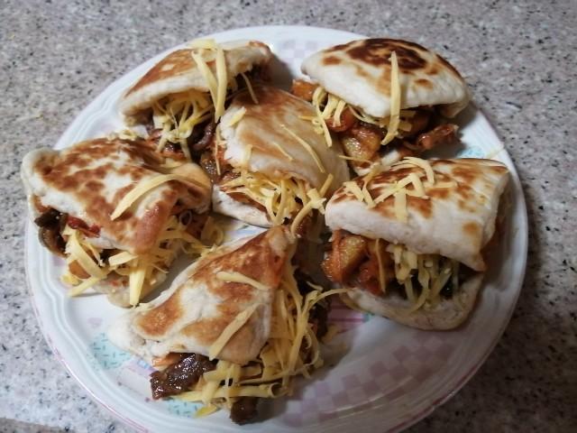 Shawarma /pitta Triangles