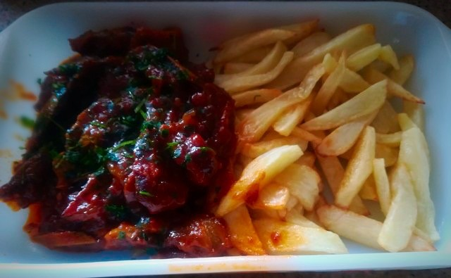 Spare Ribs Sweet Sour