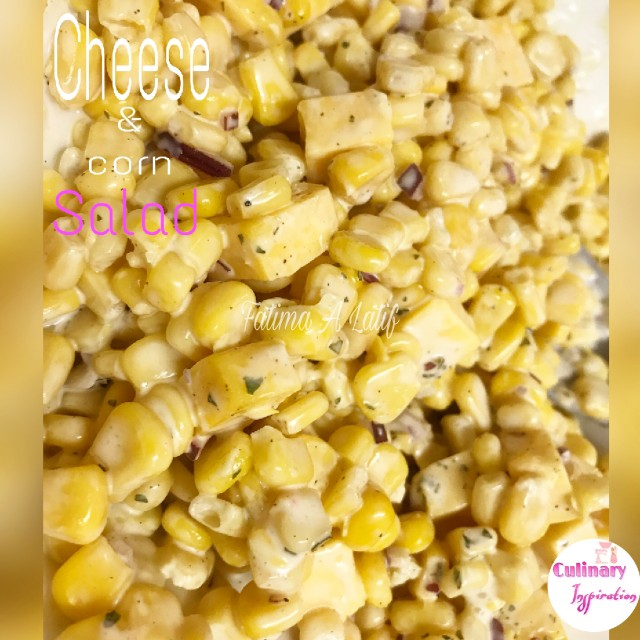Cheese & Corn Salad