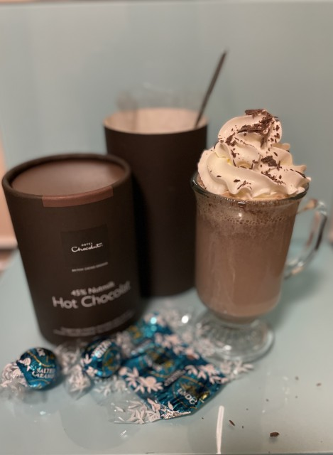 Easy Salted Caramel Hot Chocolate