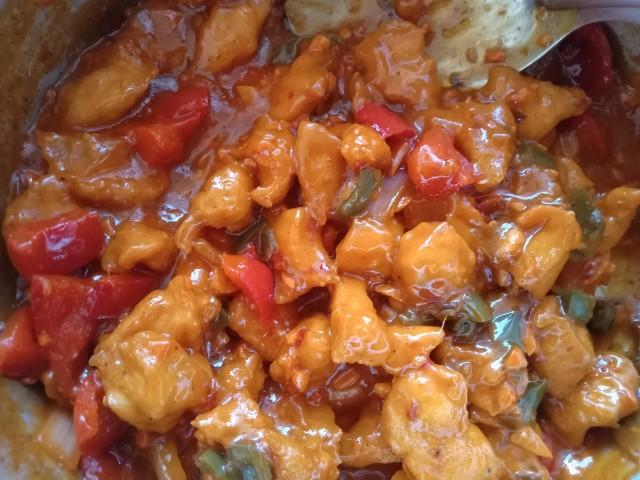 Chicken Hot Garlic Sauce