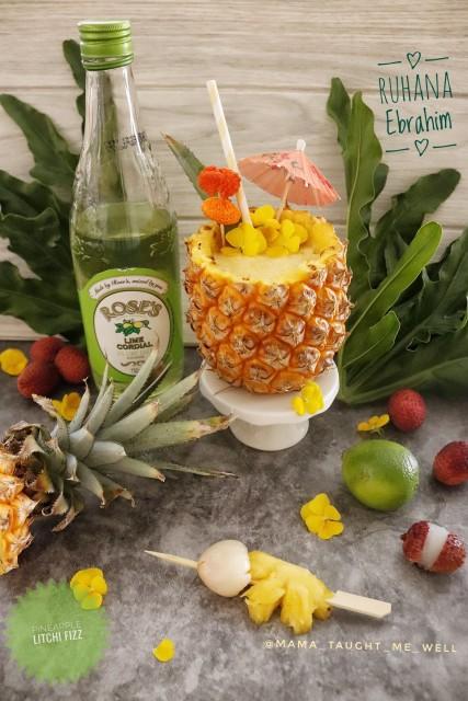 Pineapple & Litchi Fizz