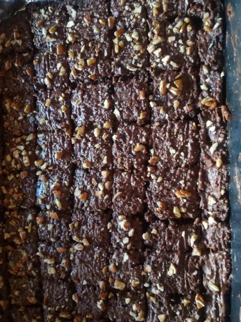 Chocolate  Marie Biscuit  Brownie