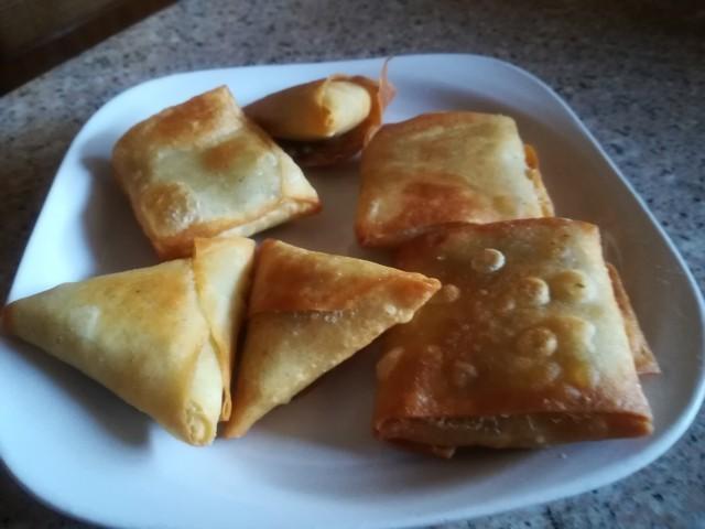 Patta & Corn Samoosa /parcels