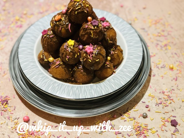 Dropdoughnuts Smothered In Milk Chocolate And Funfetti