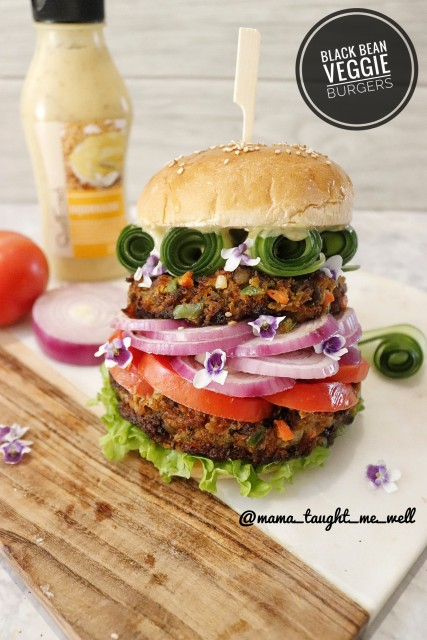 Black Bean Veggie Patties