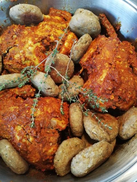 Roast Baby Chickens