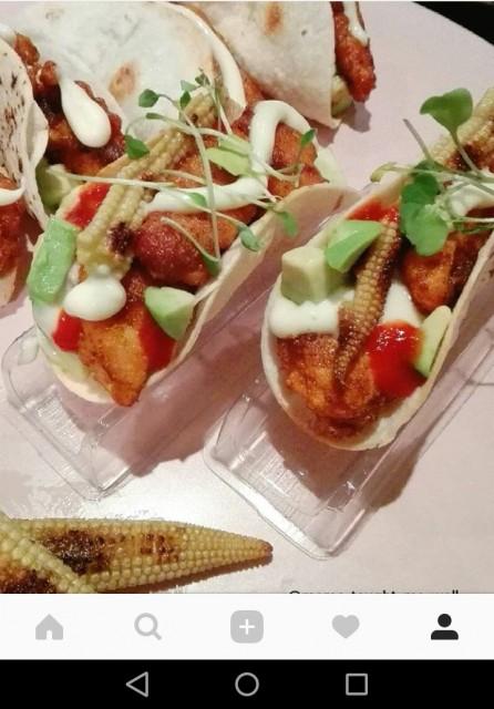 Mini Chicken Corn Avo Tacos