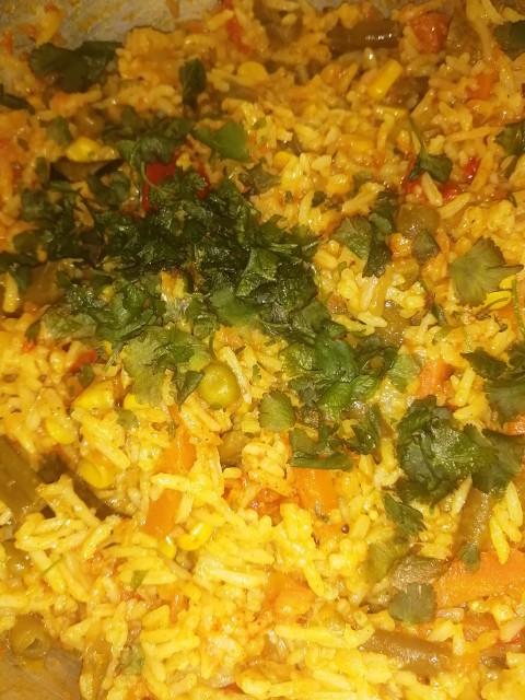 Vegetable Pillau