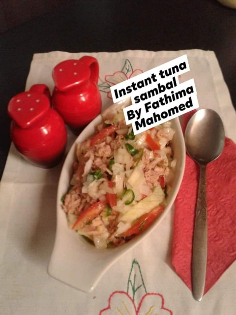 Instant Tuna Sambal