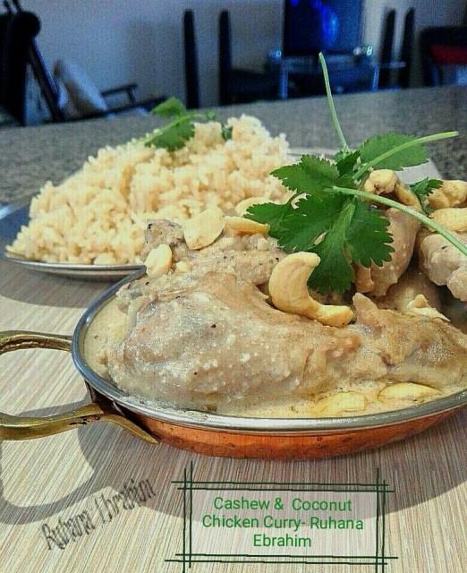 Cashew & Coconut Chicken Curry