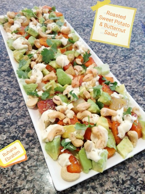 Roasted Sweet Potato & Butternut Salad