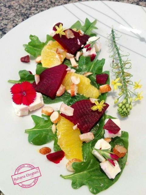 Citrus Beetroot Salad