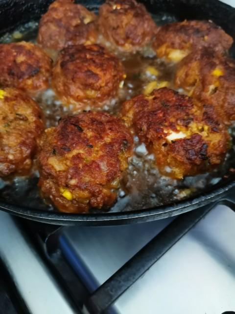 Rustic Egg Kebabs