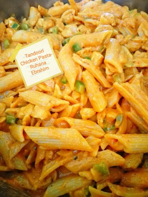Tandoori Chicken Pasta