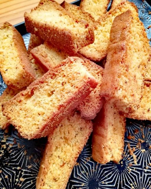 Sumi's Tea Time Aniseed Cake Rusks.
