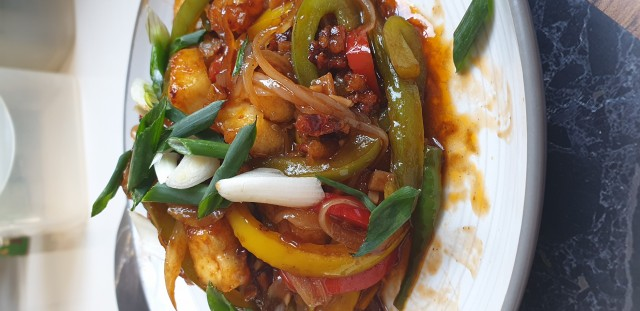Indo Chinese Fusion Paneer