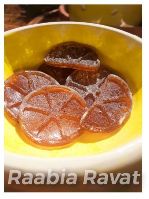 Honey And Lemon Sweets