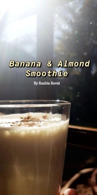 Banana And Almond Smoothie
