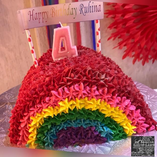 Rainbow 🌈 Cake
