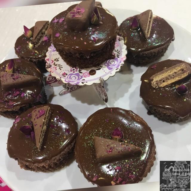 Chocolate Rose Cupcakes Recipe By Fatima A Latif
