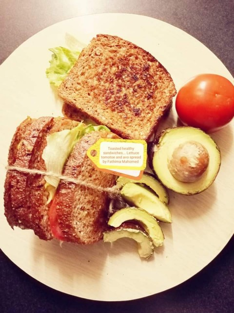 Toasted Healthy Sandwiches