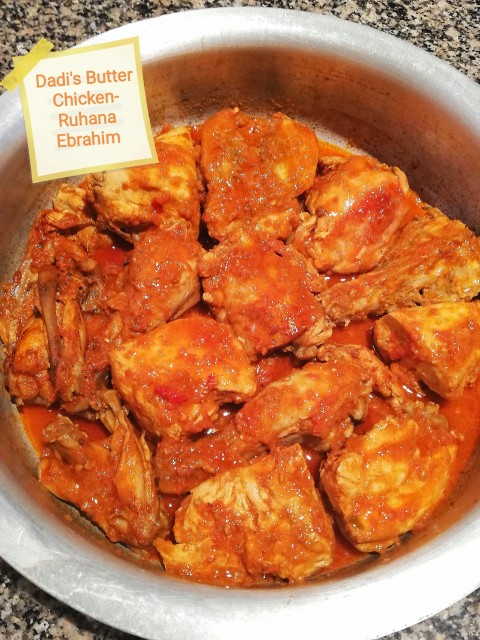 Dadi's Butter Chicken
