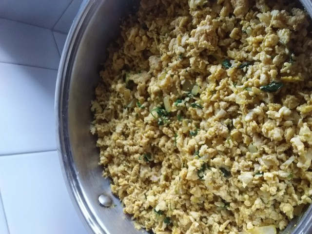 Chicken Mince Filling